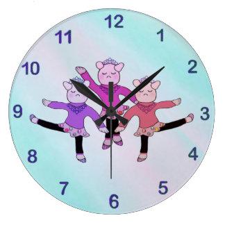 Piggly Wiggle Ballerina Clock