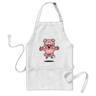 Piggy Adult Apron
