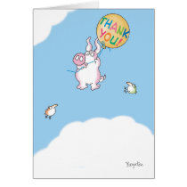 PIGGY ALOFT CARD