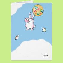 PIGGY ALOFT CARD