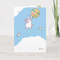 PIGGY ALOFT THANK YOU CARD