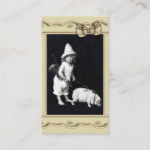 Piggy and I Vintage Photography Business Card