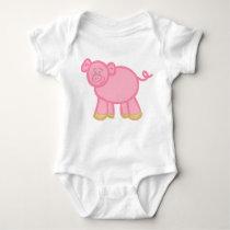 Piggy Baby Bodysuit