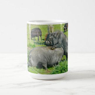 Piggy Back Ride Coffee Mug