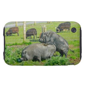 Piggy Back Ride iPhone 3 Tough Case