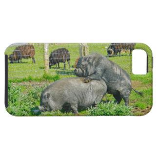 Piggy Back Ride iPhone SE/5/5s Case