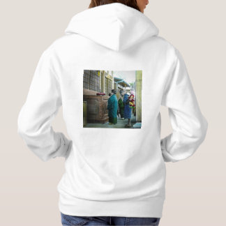 Piggy Backing to Prayer Time at Local Temple Japan Hoodie
