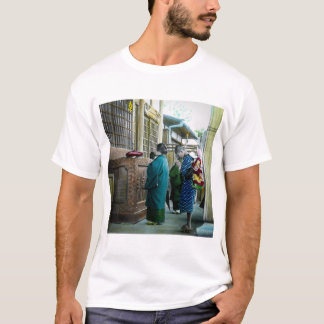 Piggy Backing to Prayer Time at Local Temple Japan T-Shirt