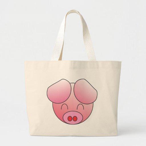 PIGGY TOTE BAGS
