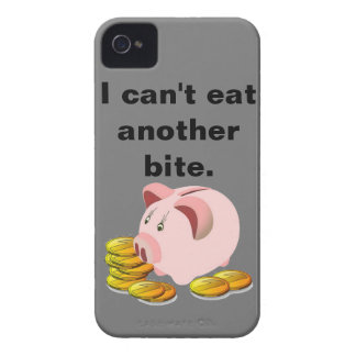 Piggy Bank Coint Slot Top iPhone 4 Cover