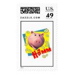 Piggy Bank Disney Postage Stamps