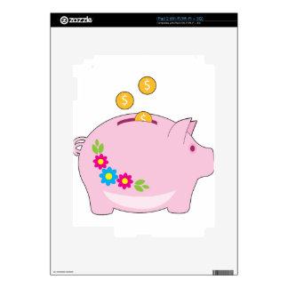 Piggy Bank iPad 2 Decal