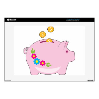Piggy Bank Laptop Decal