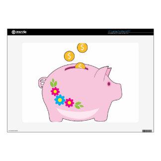 Piggy Bank Laptop Decal