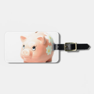 Piggy-bank Luggage Tag