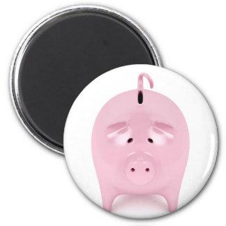 Piggy bank magnet
