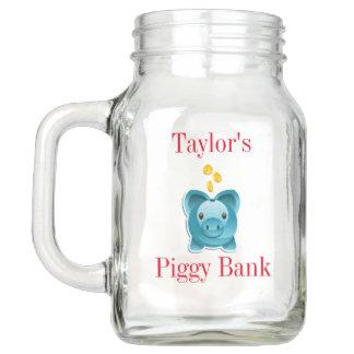Piggy Bank Mason Jar