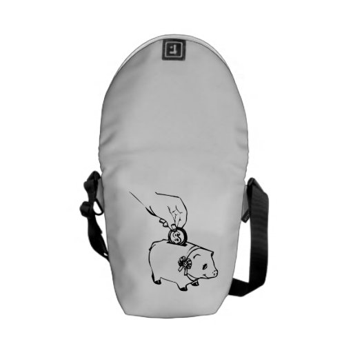 Piggy Bank Messenger Bag