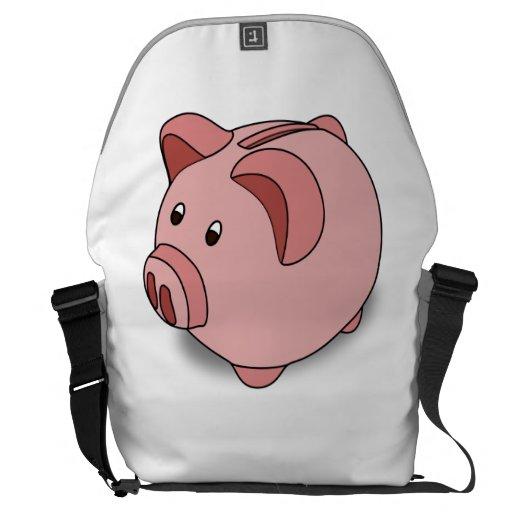 Piggy Bank Courier Bags