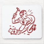 piggy bank mouse pads