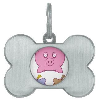 Piggy Bank Pet Tag