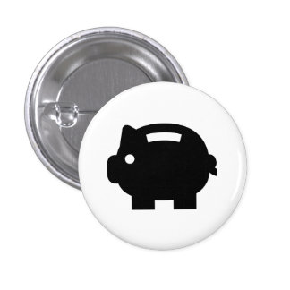 'Piggy Bank' Pictogram Button