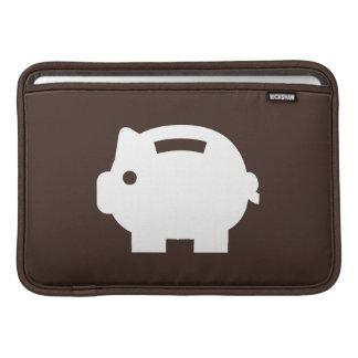 Piggy Bank Pictogram MacBook Air Sleeve