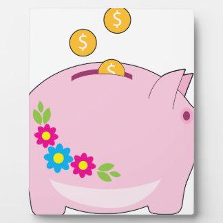 Piggy Bank Plaque