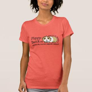 Piggy Bank UK Women's T-Shirt (black text)
