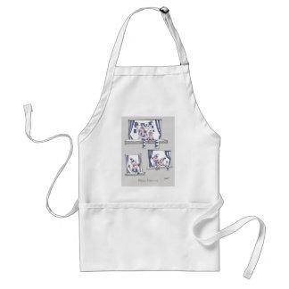 piggy blues forever adult apron