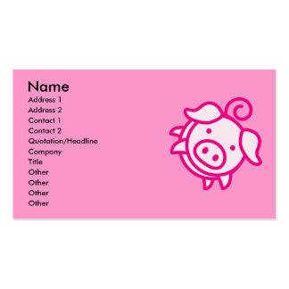 Piggy Business Cards