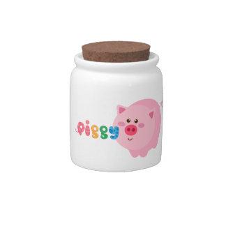 Piggy Candy/Treat Jar Candy Dish