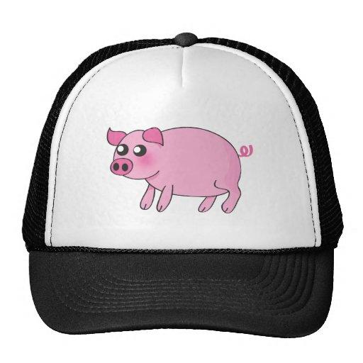 Piggy cap trucker hats