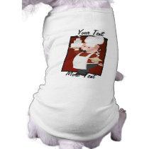 Piggy Chef Dog Shirt