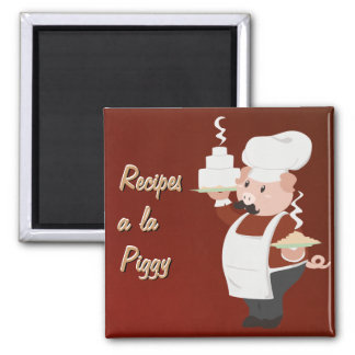 Piggy Chef Magnet