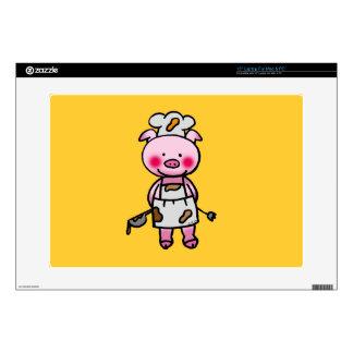 piggy chef skin for laptop