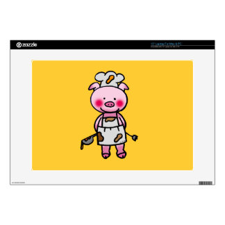 piggy chef skin for laptop
