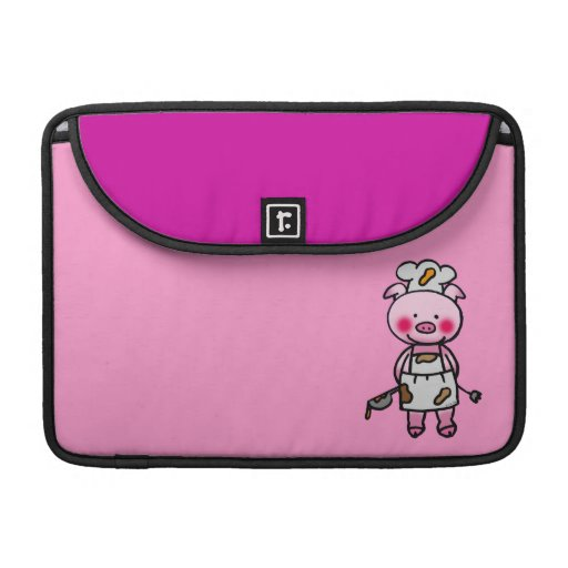 piggy chef sleeve for MacBook pro