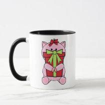 Piggy Christmas Gift Mug