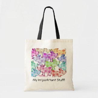 Piggy Collage Bag