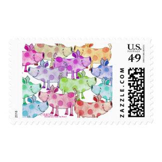 Piggy Collage Stamp