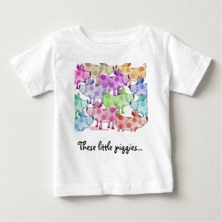 Piggy Collage T Shirts