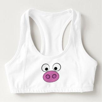 Piggy Face and Bum Sports Bra