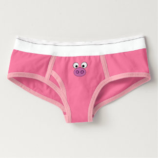 Piggy Face and Tail Briefs