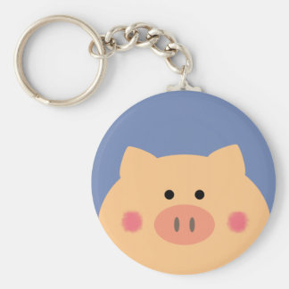 Piggy Face Keychain