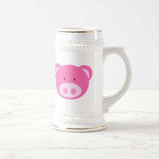 Piggy Face Stein