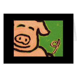piggy fun card
