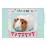 Piggy Hugs and Kisses Greeting Card