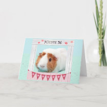 Piggy Hugs and Kisses Holiday Card