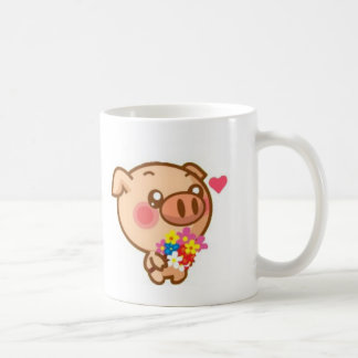 Piggy in Love Coffee Mug